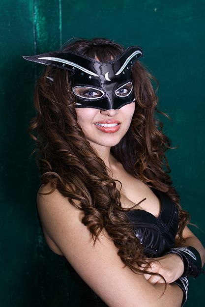 The Luchadoras: Masked Luchadora - Candy | Luchadoras ...