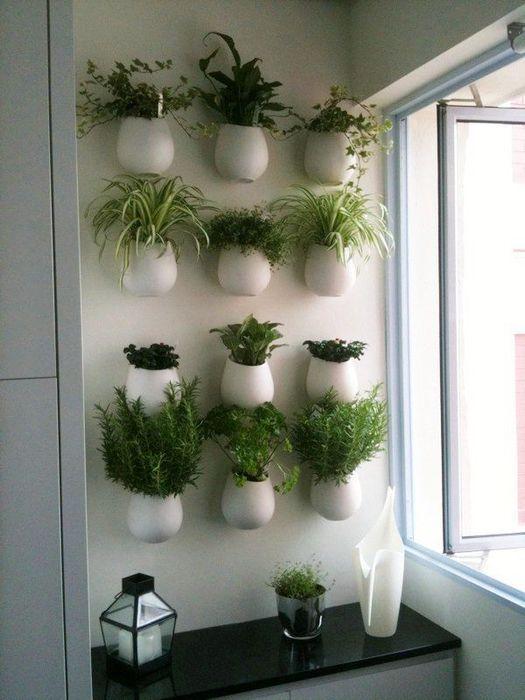 Декор кухни из зелени