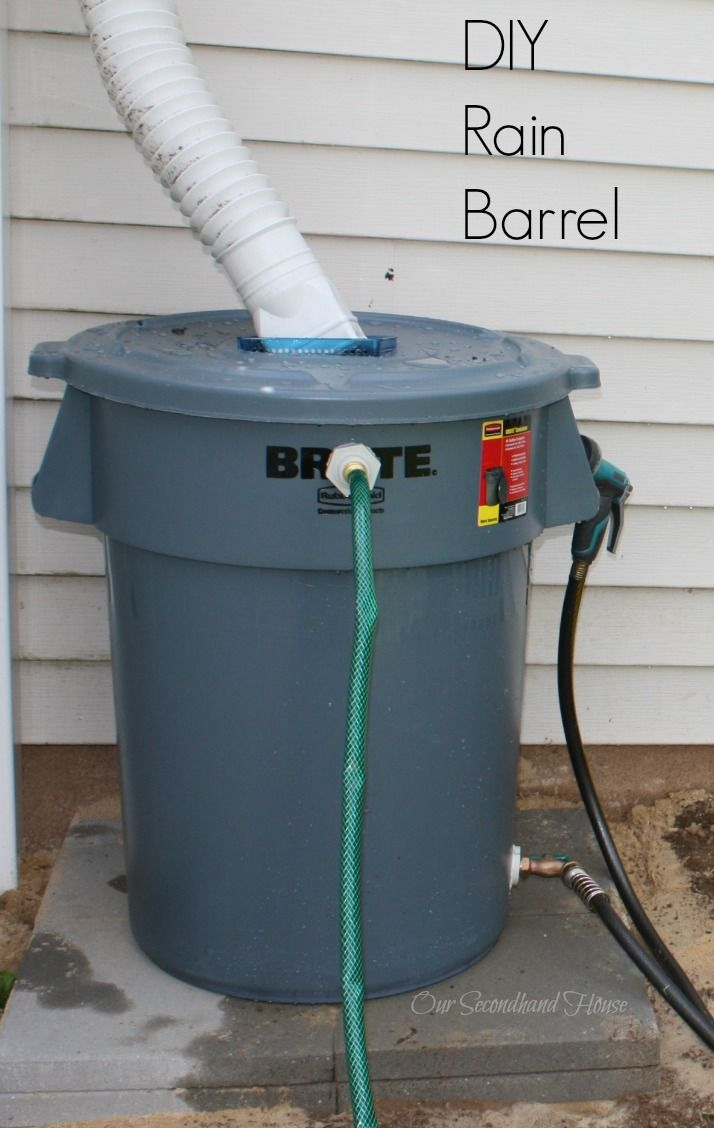 diy rain barrel home rain barrels and rain