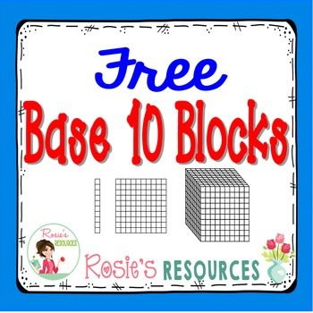 how to use base 10 blocks to divide