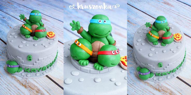 Tort z żółwiami ninja