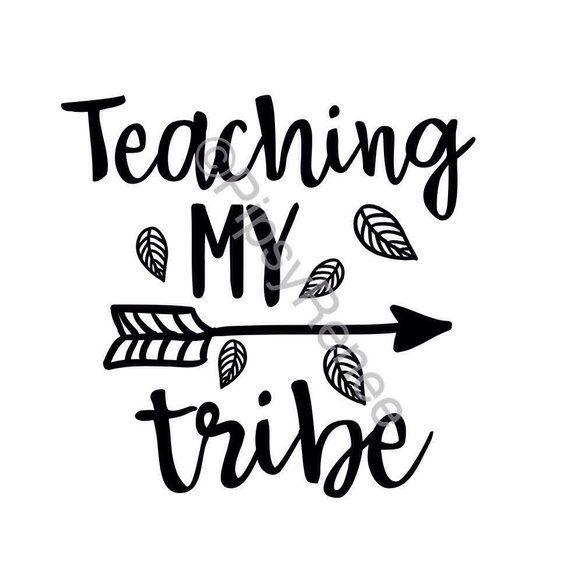 Download Teaching My Tribe Homeschooling SVG, Homeschooling Mom SVG ...