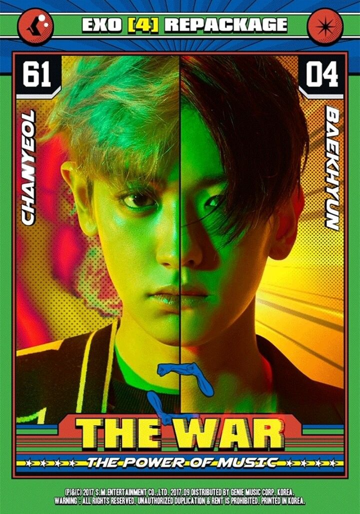 EXO • The War • The Power of music • Chanyeol & Baekhyun