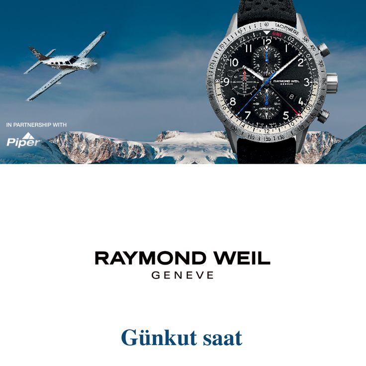 Tarzınıza uygun şık bir görünüm için, Raymond Weil… http://bit.ly/günkutsaat-raymond-weil