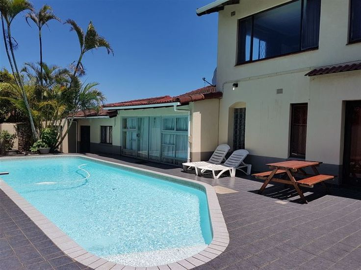 Shirley House - Shirley House is a short walk from lovely private beaches, close to great fishing spots and approximately 10 minutes drive to the nearest town. It comprises nine bedrooms and six bathrooms.The house has ... #weekendgetaways #margate #southcoast #southafrica
