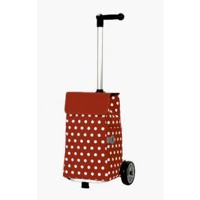 Einkaufstrolley- Andersen Unus Shopper® Elfi - ganz modern und doch eine Erinnerung an die Petticoat-Zeit schoenes-verschenken.de