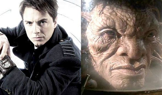 """""""Something just hit me. So in Torchwood when they blew jack up he grew back out of what they found. Well, when the headless monks cut his head off his head survives and becomes the face of boe which eventually dies, but Jack can't die bc of Rose which means, that from the rest of his body a new head grew and there has to be another jack out there….."""" - angel-in-the-blue-box via Tumblr"""