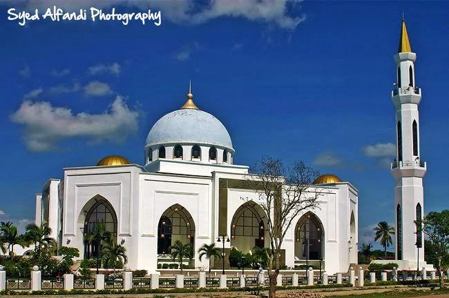 Masjid Al Ghufran or The Al Ghufran Mosque   Kedah Travelog
