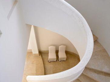 Flamingo Drive Residence - mediterranean - staircase - miami - Jarosz Architect, P.A.