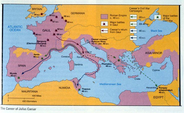 Julius Caesar Military Career - Bing Images