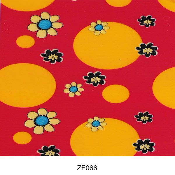 Hydro printing film flower pattern ZF066