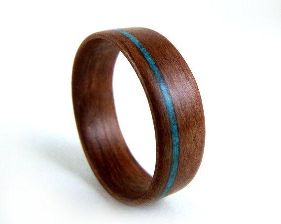dark wood grain ring