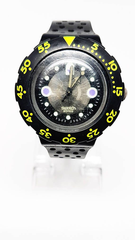 22 best watch it images on pinterest watches fancy - Swatch dive watch ...