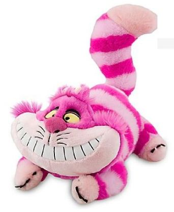 Disney Gifts for Teen Girls: Alice in Wonderland's Cheshire Cat Plush Stuffed Animal @ Amazon
