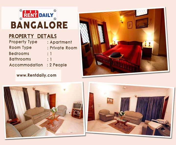 Apartment Rent on Bangalore at Rent Daily