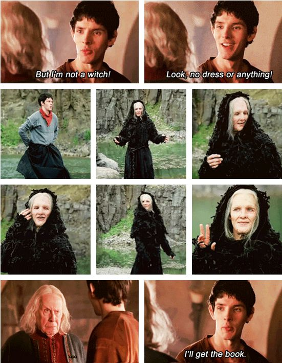 How do you know he's a witch? 'Cause he looks like one!  He turned me into a newt!... I got better.