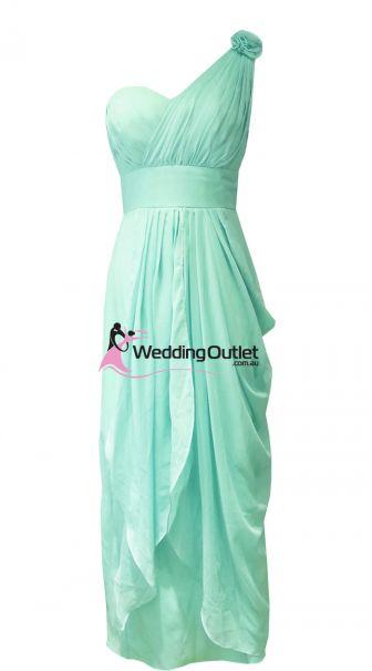 Mint Green Bridesmaid Dresses Style #C101