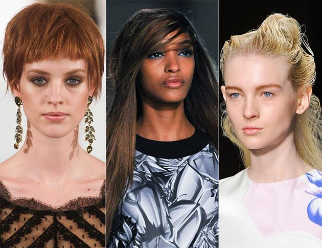 Fall/ Winter 2014-2015 Hairstyle Trends: Hairstyles with Bangs  #hairstyles #hairtrends