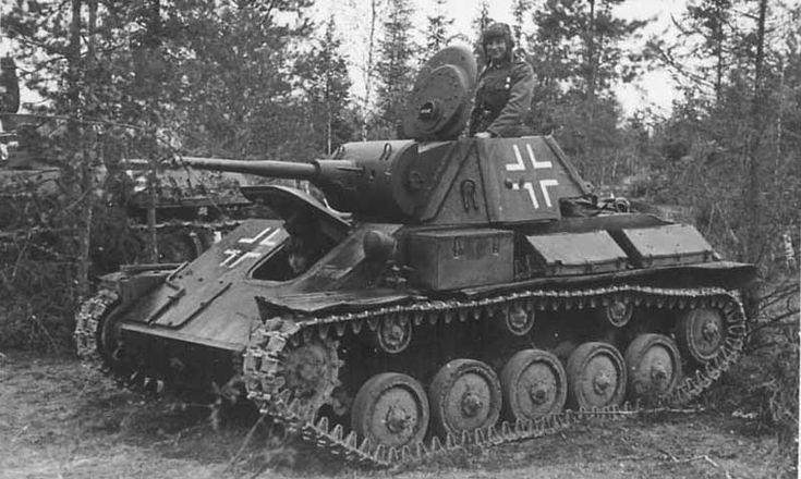 Soviet T 70 Tank of German 260 Infantry Division