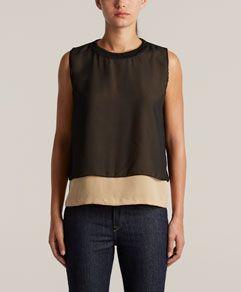 Layered Shirt - Sand and Black - Levi's - levi.com