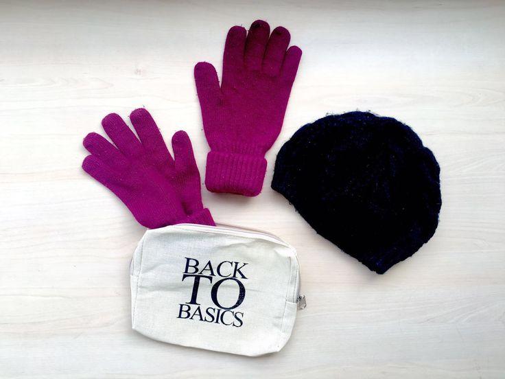 Eco-bag & gloves.
