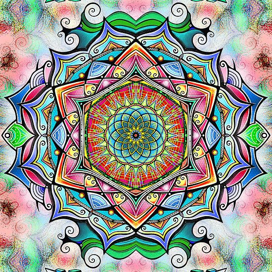 Mandala HD 2 by relplus on Redbubble