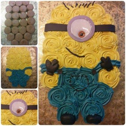 The 25 best Minion cupcakes ideas on Pinterest Despicable me