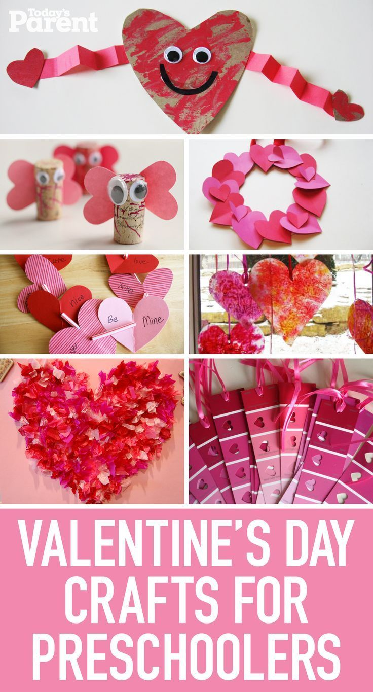 11 Valentine S Day Crafts For Preschoolers Education To The Core