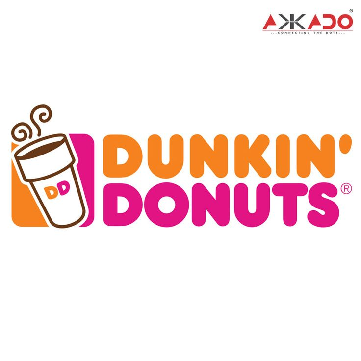 """It's time to solve the """"brand mystery"""".  The straightened up version of the coffee cup is a part of world's leading Coffee and Baked Goods chain's logo Dunkin' Donuts.  The brand has been satiating the craving of the food lovers since 1950 with its first-ever outlet opened in Quincy, Massachusetts in the USA. Today, the brand serves more than 900 million donuts and 1.5 billion cups of coffee a year globally.  #Akkado #ConnectingTheDots #DunkinDonuts #PuzzleAnswer"""