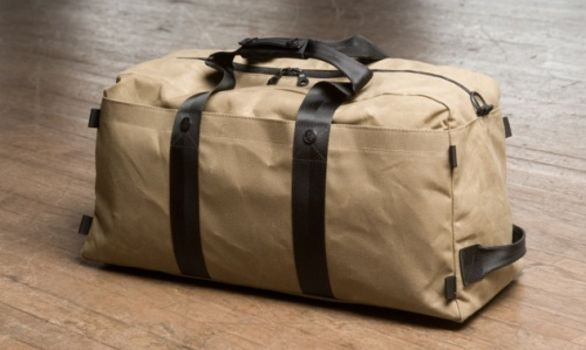 Duffel bag made from uniforms - my favorite!
