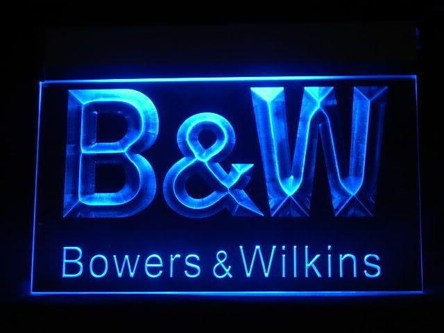 B&W Bowers & Wilkins LED Sign www.shacksign.com