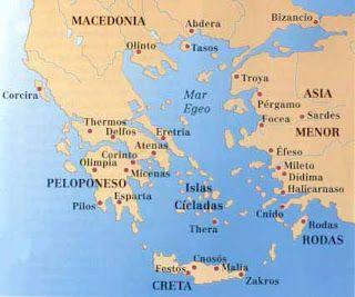Historia de Grecia: Grecia Antígua, La Hélade (Resumen)