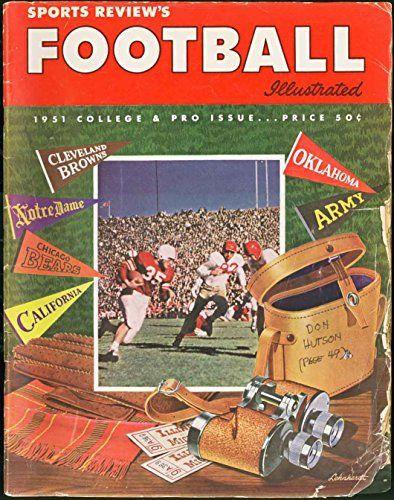Otto Graham Cleveland Browns Publications