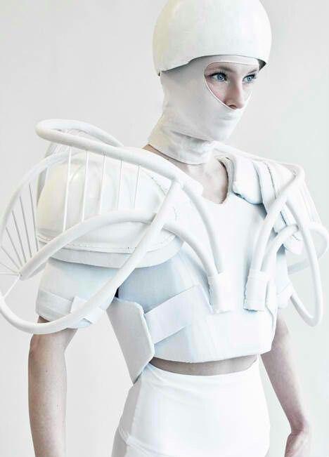 Futuristic Fashion maybe a Lunar Gard?