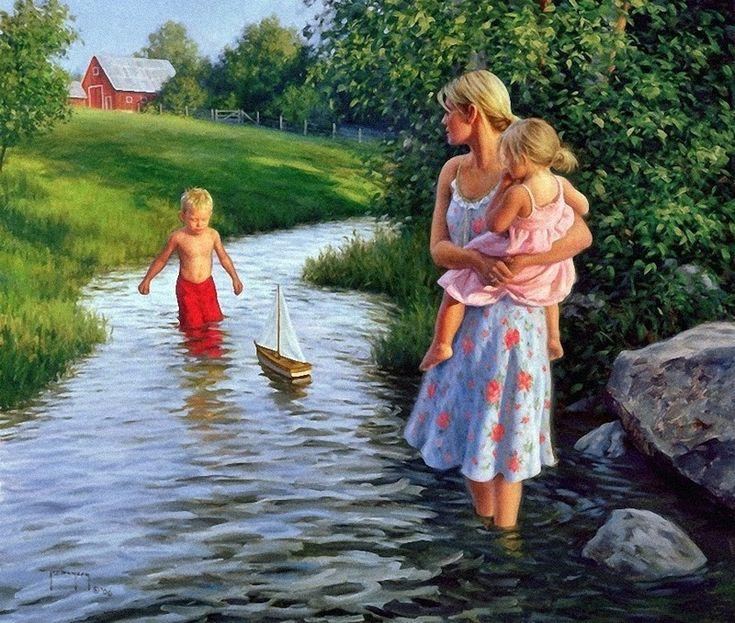 """Let's Sail Away"" (2006), by American artist - Robert Duncan (1952 - )"