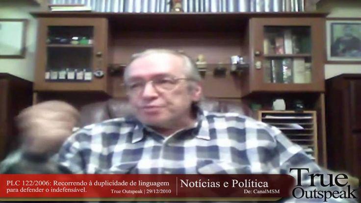 5:41 Dráuzio Varella Olavo de Carvalho   Trecho (2/3) do True Outspeak - Drauzio Varella; PLC 122/06: Recorrendo à duplicidade de linguagem para defender o i...