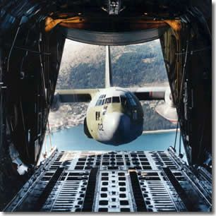 C130 .. wow, great shot! But i think the hole needs to be a little bigger for it to fit..........