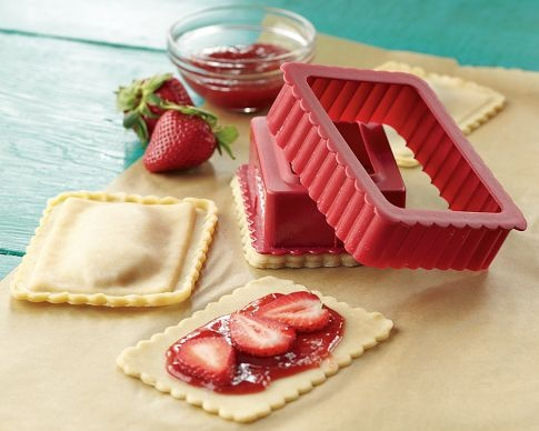 U can customize w/ toaster pastry press & vary the fillings.