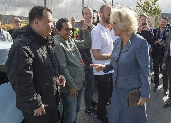 Camilla Parker Bowles Visits Nelsons
