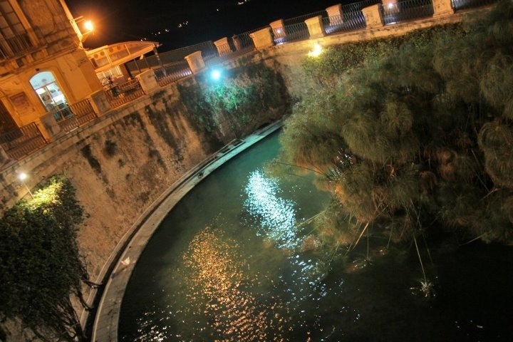 """Siracusa, Fontana Aretusa o """"delle Papere"""""""