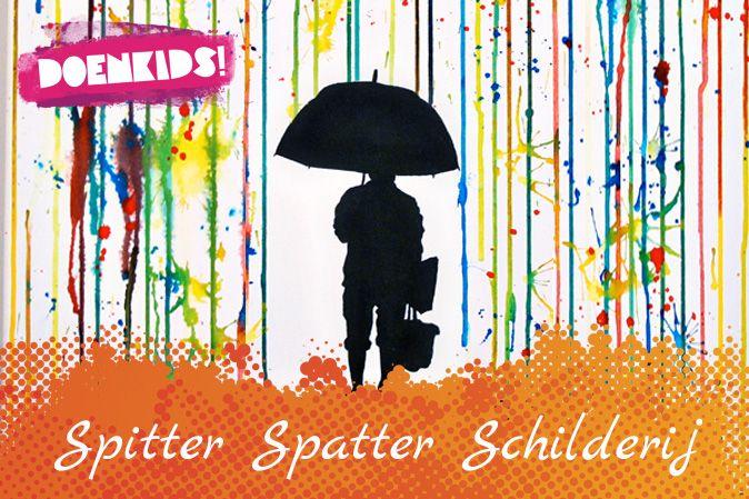 Spitter Spatter Schilderij | Doenkids!