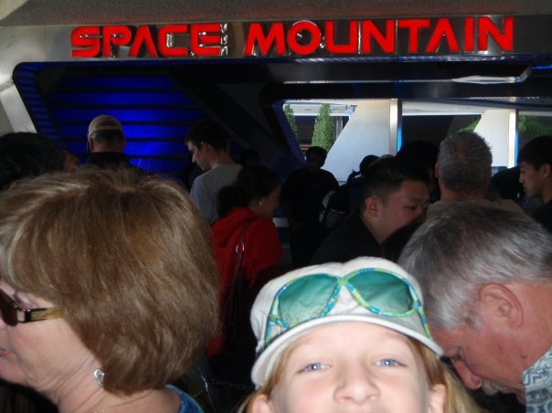 Space Mountain, Disneyland....with M&A