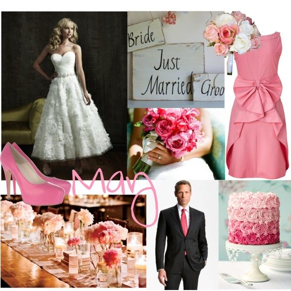 """May wedding color"" by haileydobosiewicz on Polyvore"