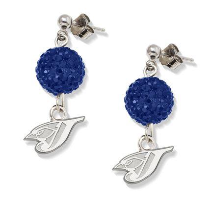 Toronto Blue Jays Ovation Crystal Earrings