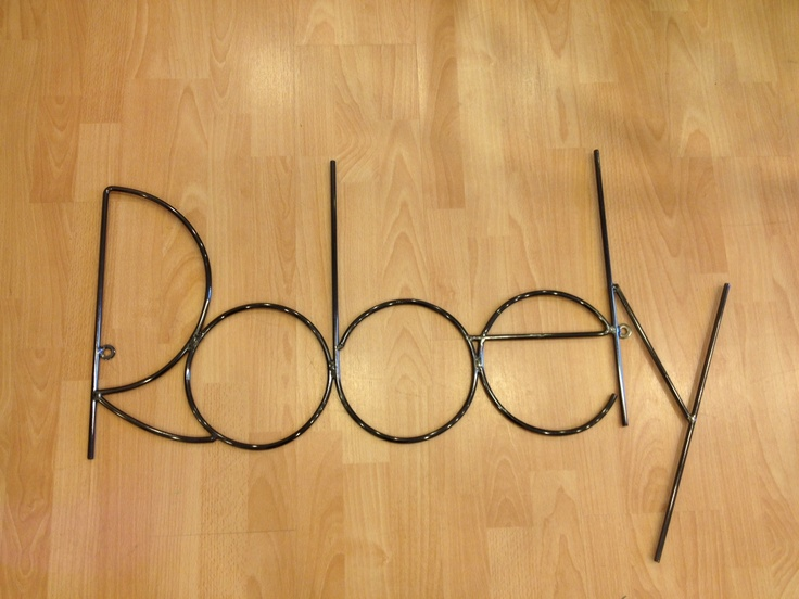 Robely in wire.