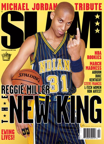 Reggie Miller | Indiana Pacers      Reggie for three, Boom Baby!