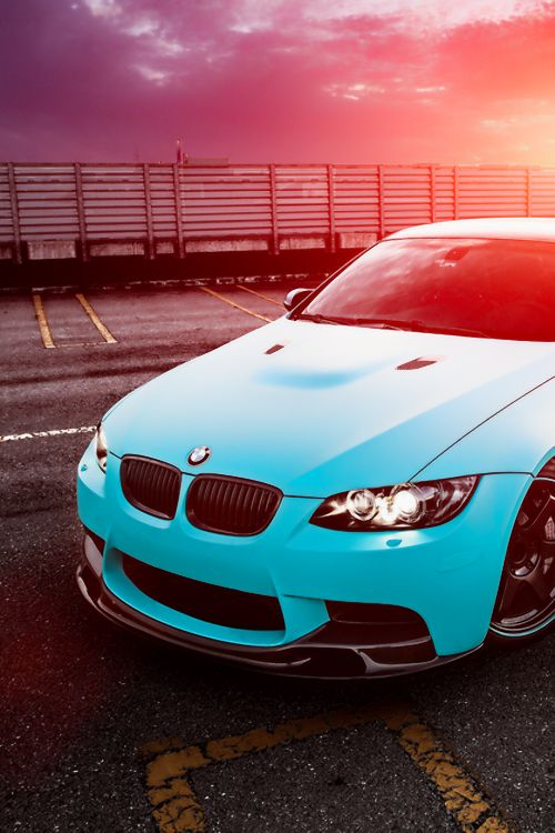 "supercars-photography: ""Blue ///M3 - Source """