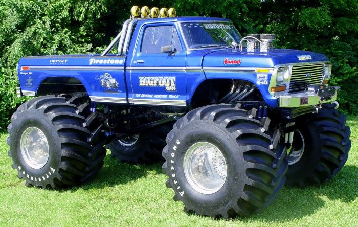 Atlanta Motorama to reunite 12 generations of Bigfoot monster trucks | Hemmings Daily