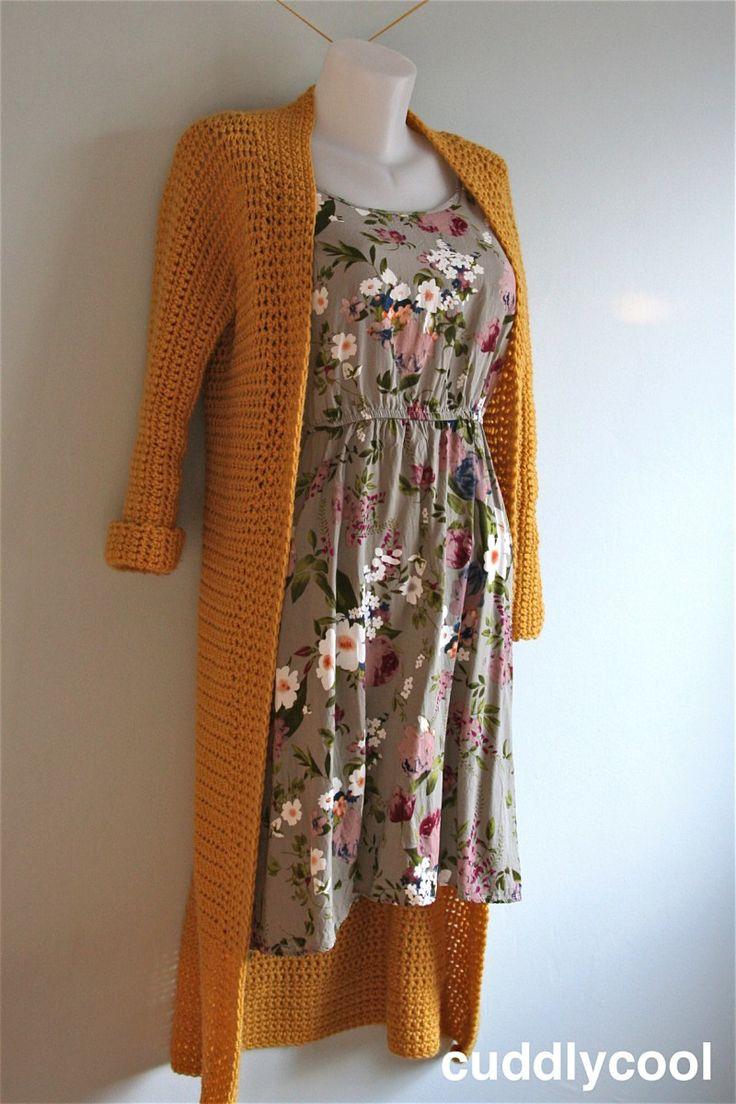 Gratis haakpatroon vest. Free crochet pattern vest cardigan