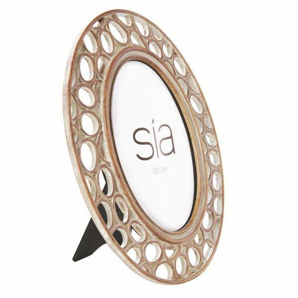 CIRCLES cornice ovale 13x18cm